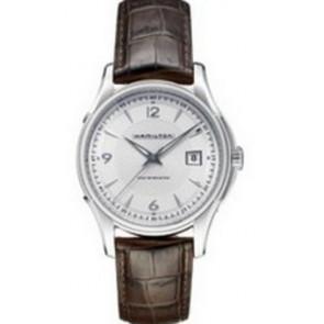 Correa de reloj Hamilton H001.32.515.555.01 / H600325100 Cuero Marrón 20mm