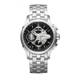 Correa de reloj Hamilton H001.32.696.139.01 / H605376100 Acero Acero 22mm