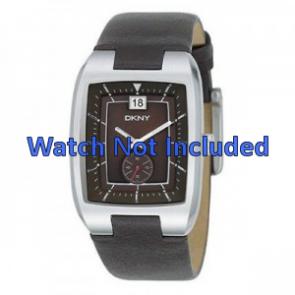 DKNY correa de reloj NY1319 Piel Marrón 20mm