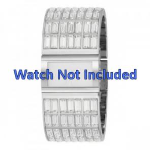 DKNY correa de reloj NY-3768 Acero Palteado 20mm