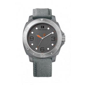 Correa de reloj Hugo Boss HB-142-1-29-2395 / HO1512666 Textil Gris 22mm