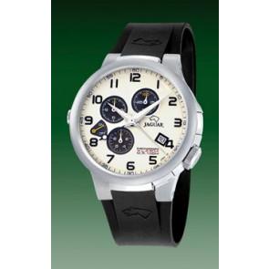Correa de reloj Jaguar J1202-01 Caucho Negro 20mm