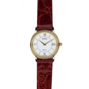 Correa de reloj Jaguar J601-1 / J601-7 Cuero Burdeos 14mm