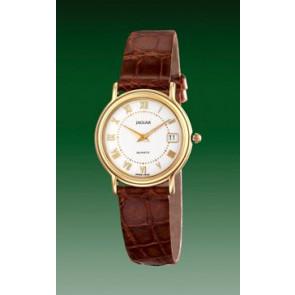 Correa de reloj Jaguar J601-2 Cuero Marrón 14mm