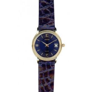 Correa de reloj Jaguar J601-5 Cuero Azul 14mm