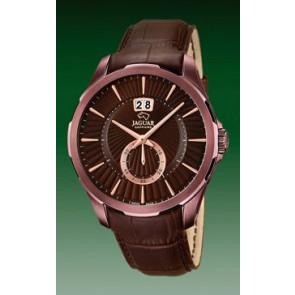 Correa de reloj Jaguar J684 Cuero Marrón 22mm