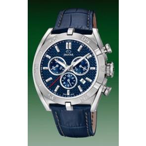 Correa de reloj Jaguar J857-2 Cuero Azul
