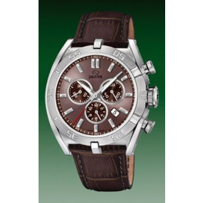 Correa de reloj Jaguar J857-6 Cuero Marrón