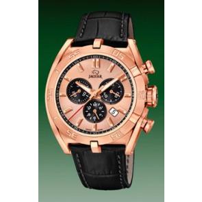 Correa de reloj Jaguar J859-1 / J859-3 Cuero Negro