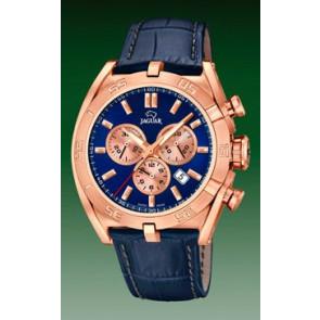 Correa de reloj Jaguar J859-2 Cuero Azul