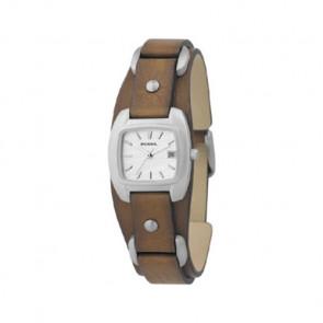 Correa de reloj Fossil JR8897 Cuero Marrón 12mm