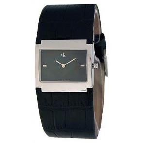 Correa de reloj Calvin Klein K04281.46 / K600.028.750 Cuero Negro
