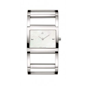 Correa de reloj Calvin Klein K605026210 / K0428181 Acero inoxidable Acero