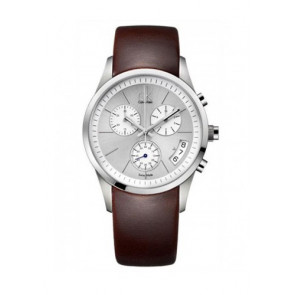 Correa de reloj Calvin Klein K22271 Caucho Marrón