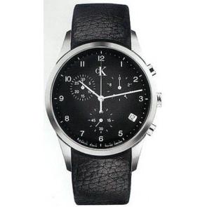 Correa de reloj Calvin Klein K600058950 / K2227102 Cuero Negro