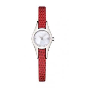 Correa de reloj Calvin Klein K2723100 Cuero Rojo