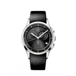 Correa de reloj Calvin Klein K2A27161 / K600000065 Cuero Negro 20mm