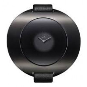 Correa de reloj Calvin Klein K37231 Cuero Negro 12mm