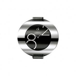 Correa de reloj Calvin Klein K600035806 / K3723702 Cuero Negro 16mm