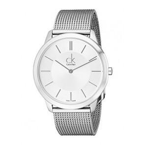 Correa de reloj Calvin Klein K3M221 / K605000134 Acero Acero inoxidable