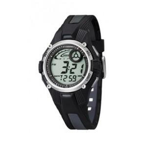 Correa de reloj Calypso K5558/6 Plástico Negro