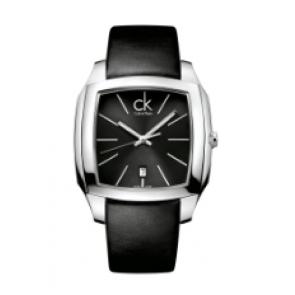 Calvin Klein correa de reloj K600.000.095 Cuero Negro 20mm