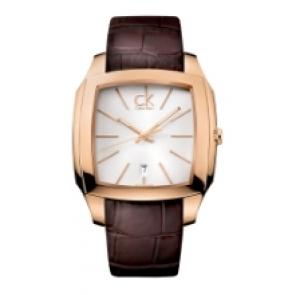 Calvin Klein correa de reloj K600.000.095 Cuero Marrón 20mm