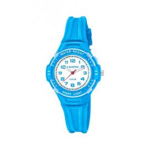 Correa de reloj Calypso K6070-3 Caucho Azul