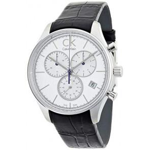 Correa de reloj Calvin Klein K9814220 / K690000006 Cuero Negro
