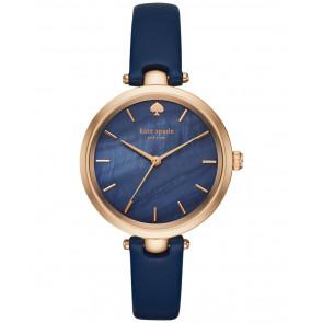 Correa de reloj Kate Spade New York KSW1157 Cuero Azul 6mm