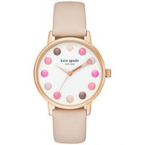 Correa de reloj Kate Spade New York KSW1253 Cuero Beige 16mm