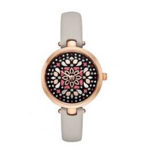 Correa de reloj Kate Spade New York KSW1260 Cuero Gris pardo 5mm
