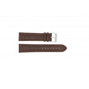 Correa de reloj 305.02.14 XL  Cuero Marrón 14mm + costura marrón