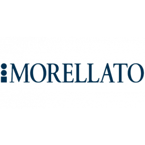 Morellato correa de reloj Amadeus G.Croc Mat U0518339061CR22 / PMU061AMADEA22 Cuero de cocodrilo Azul  22mm + costura predeterminada