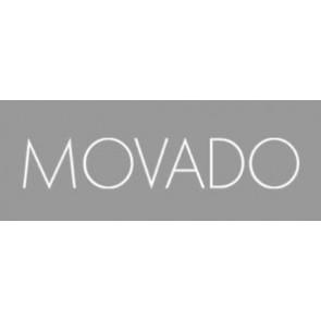 Correa de reloj Movado 84.G4.875.3801676 / CAL-18/14-WHI / Loc VIM-81 Cuero Crema blanca / Amarillento 15mm