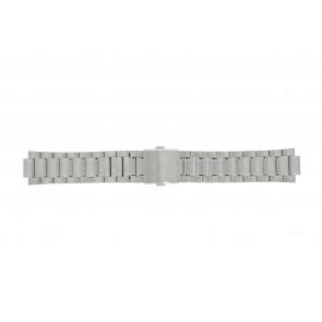 Lorus correa de reloj RH971CX9 / PC32 X040 Metal Plateado 20mm