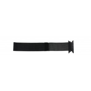 Apple (modelo de sustitución) correa de reloj LS.AB.108 Acero Negro 42mm