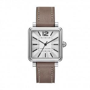 Correa de reloj Marc by Marc Jacobs MJ1518 Cuero Gris pardo 16mm