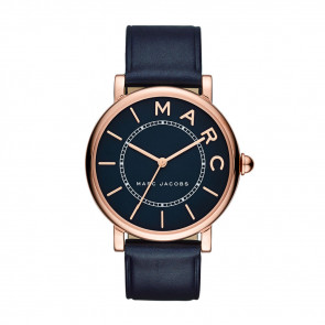 Correa de reloj Marc by Marc Jacobs MJ1534 Cuero Azul 18mm