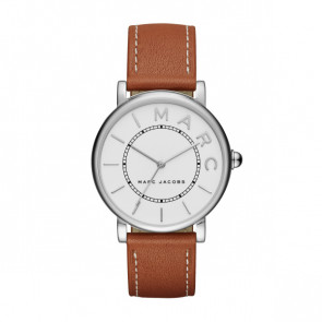 Correa de reloj Marc by Marc Jacobs MJ1571 Cuero Cognac 18mm