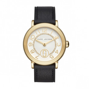 Correa de reloj Marc by Marc Jacobs MJ1615 Cuero Negro 18mm