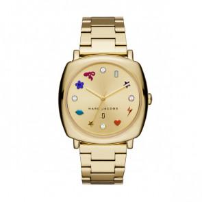 Correa de reloj Marc by Marc Jacobs MJ3549 Acero Chapado en oro 18mm