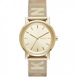 Correa de reloj DKNY NY2621 Acero Chapado en oro 18mm