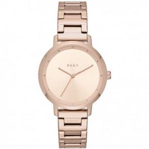 Correa de reloj DKNY NY2637 Acero Rosa 14mm