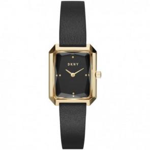 Correa de reloj DKNY NY2644 Cuero Negro 12mm