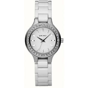Correa de reloj DKNY NY4982 Cerámica Blanco