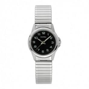 Olympic correa de reloj OL26DSS107 Metal Plateado 15mm