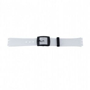 Correa de reloj WoW P51.14 Plástico Transparente 17mm