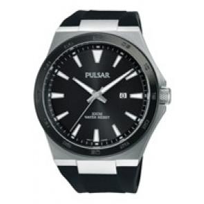 Correa de reloj Pulsar PH9081X1 / PC32 X087 / PHG048X Caucho Negro