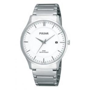 Correa de reloj Pulsar VX42-X355 / PXH963X1 / PQ356X Acero Acero 20mm